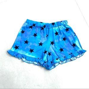 PINC ruffle shorts